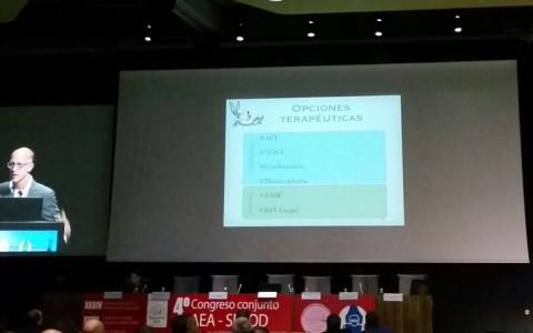 Congreso de la Asociación Española de Artroscopia 2016. Tratamiento de la lesión de cartílago en cadera