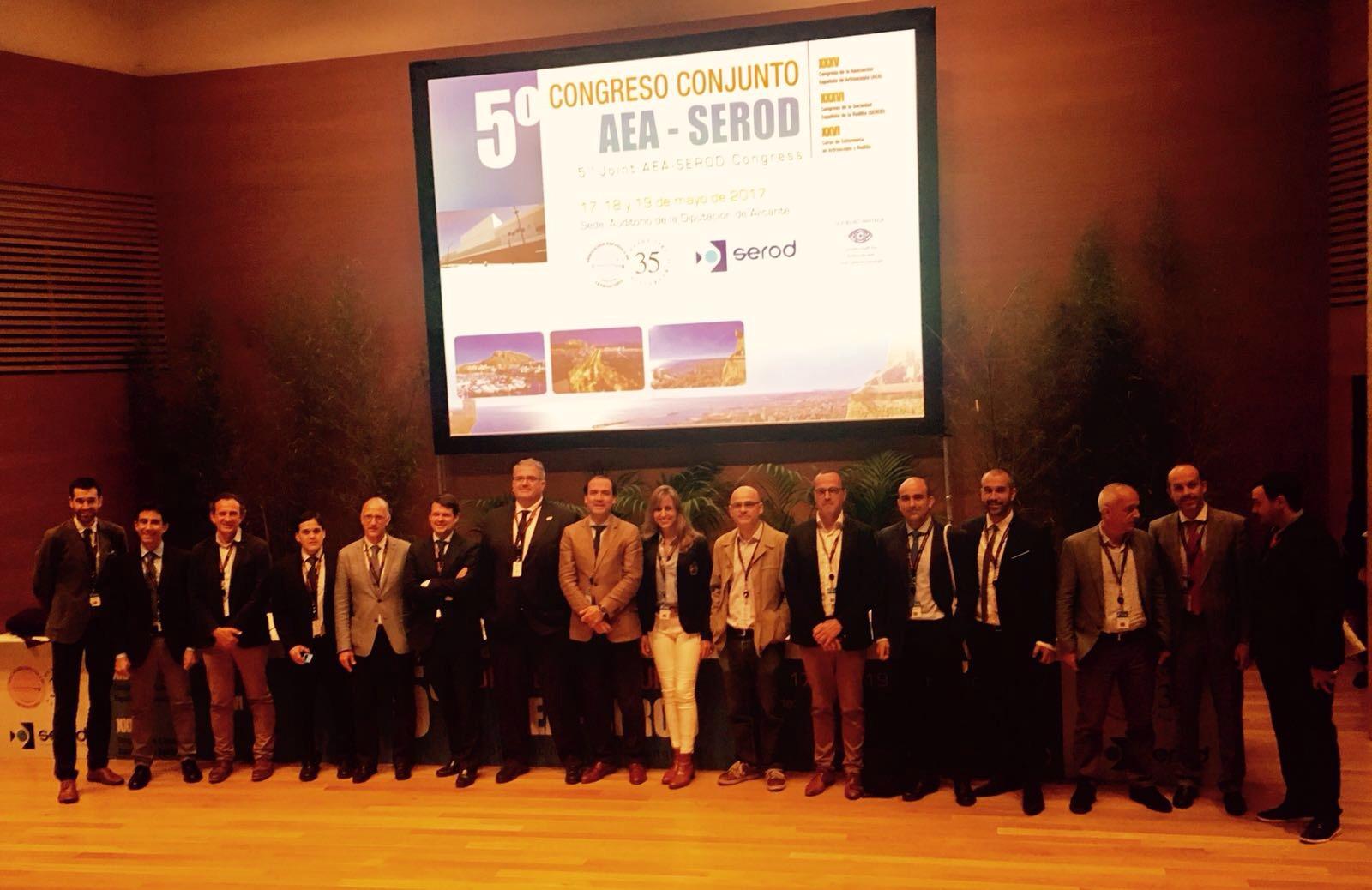 Congreso Asociación Española de Artroscopia