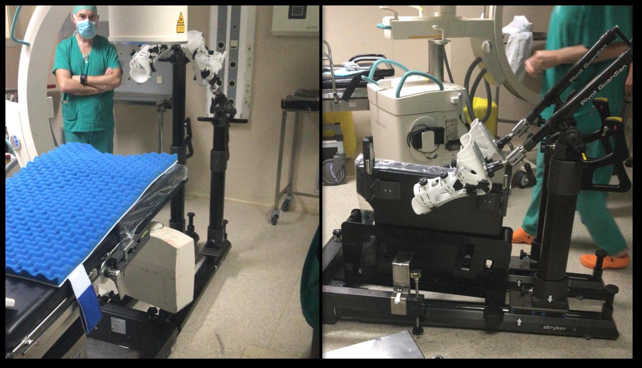 Innovación en artroscopia de cadera